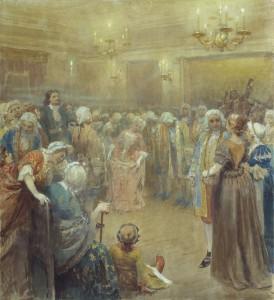 Ассамблея при дворе Петра I (Лебедев Клавдий Васильевич)