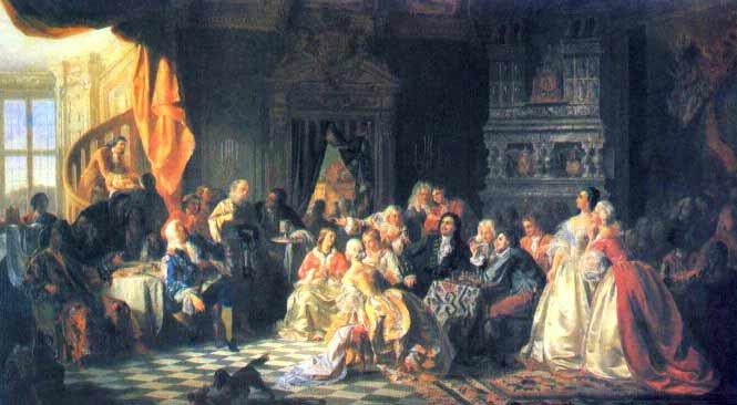 С. Хлебовский. Ассамблея при Петре I