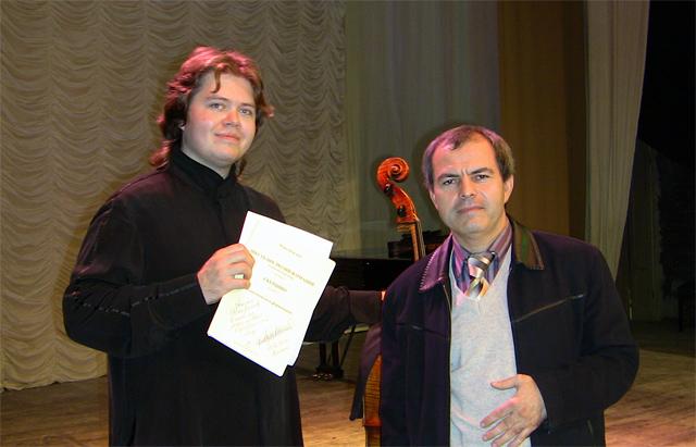 Евгений Румянцев и Рамазан Фаталиев