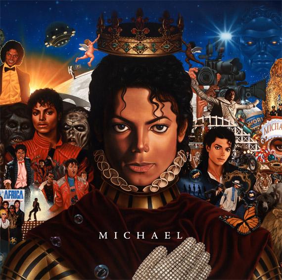 """Обложка диска """"Майкл"""""""