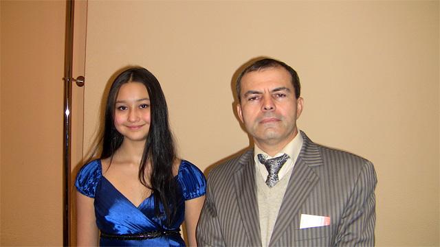 Мадина Мардиева и Рамазан Фаталиев