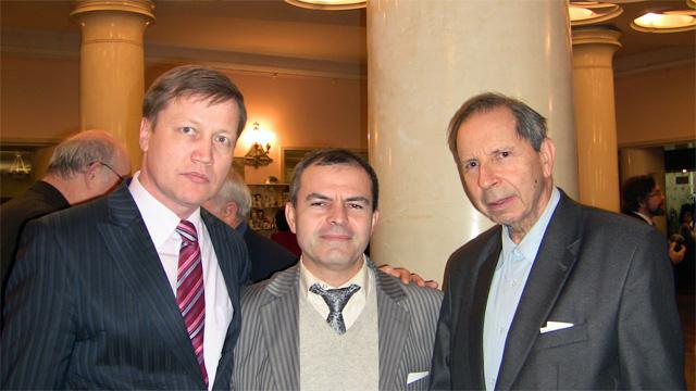 Сергей Слонимский и Рамазан Фаталиев