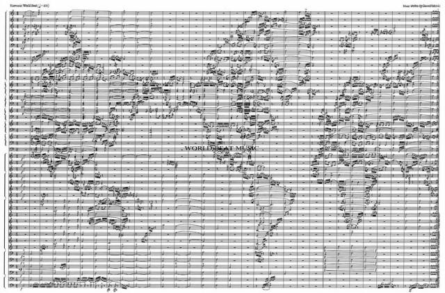 Карта мира (Партитура)